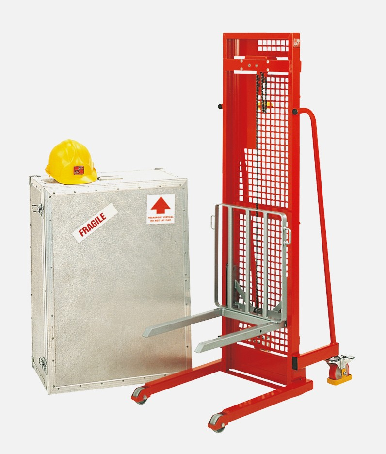 a winch lifter for warehouses