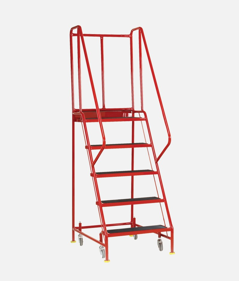 premier commercial steps in red