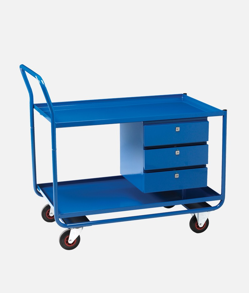 a trolley with drawers