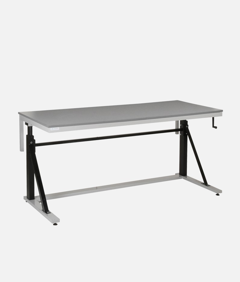 adjustable height cantilver workbenches