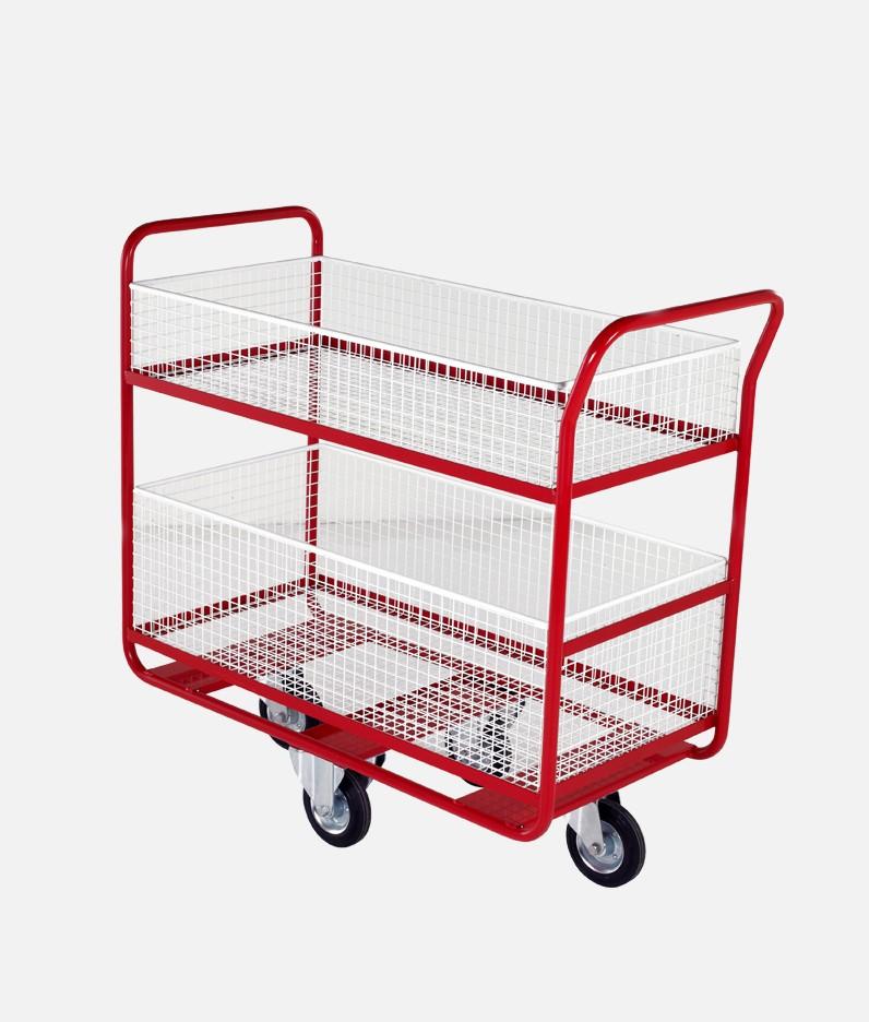a long distribution trolley