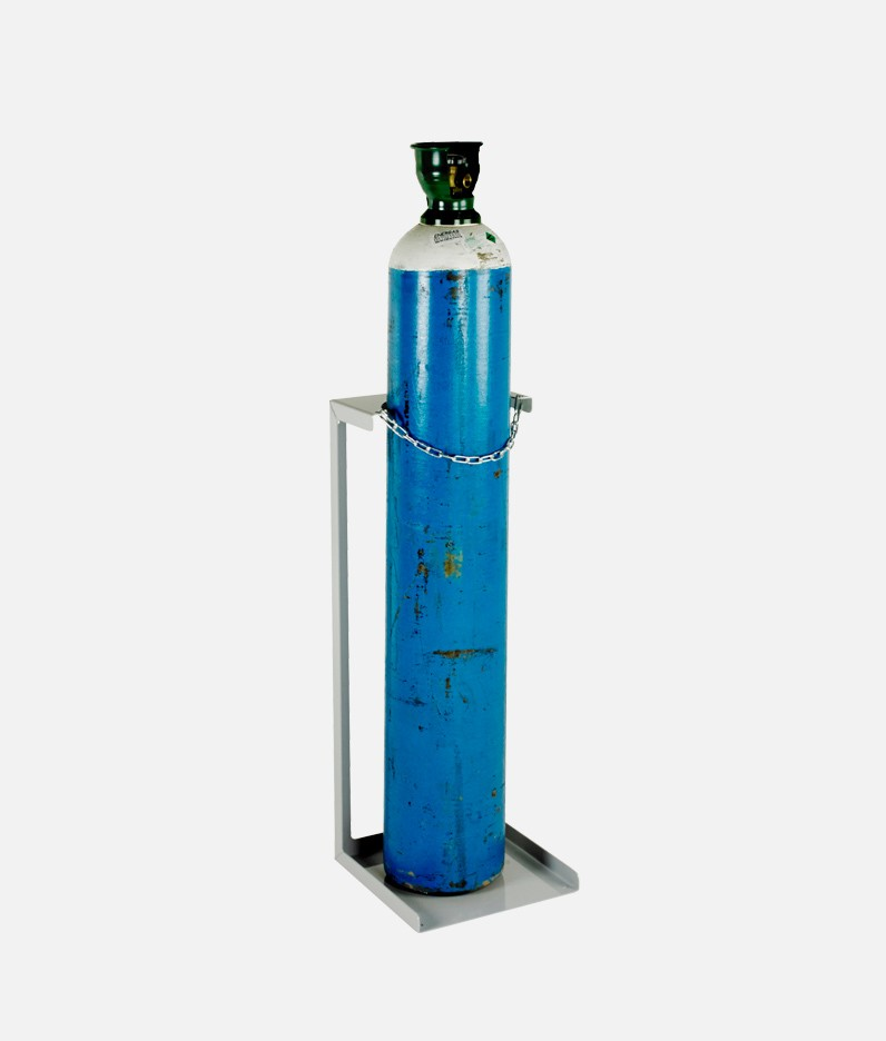 cylinder floor stand with cylinder