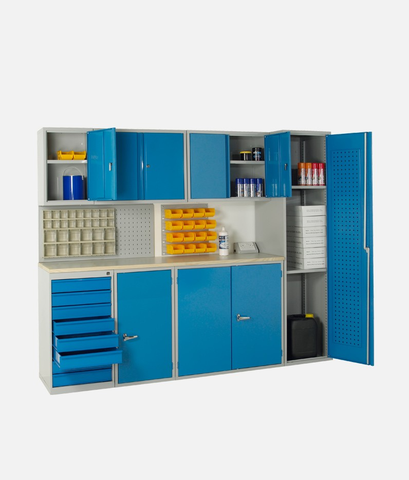 a full cabinet system