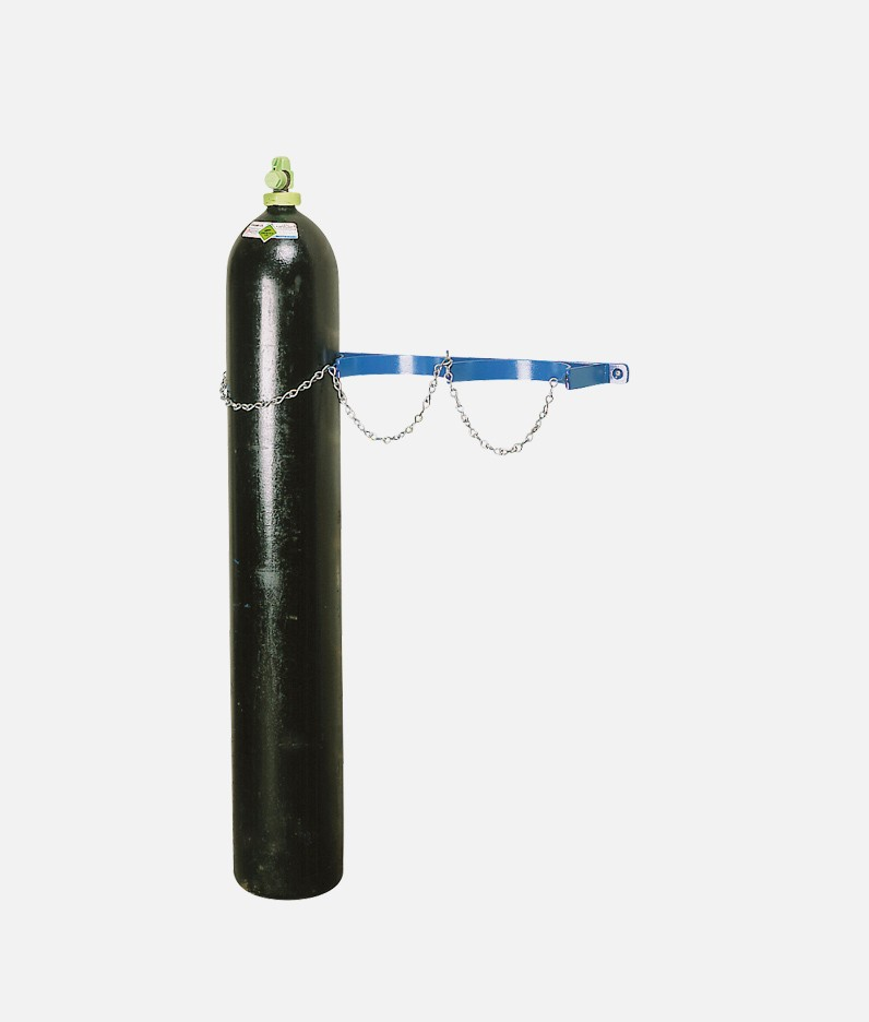 wall rack for cylinders