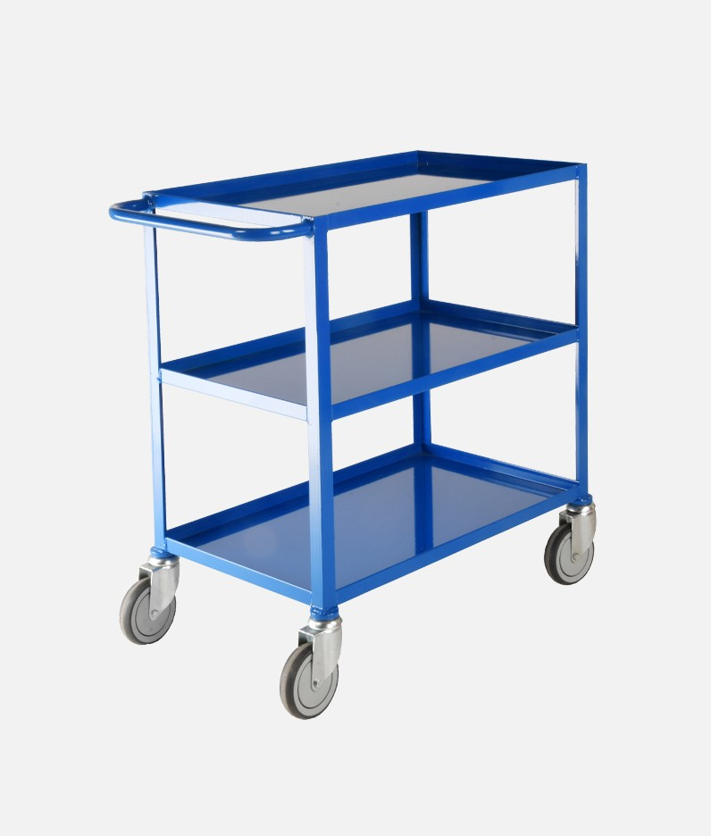 a cheap tray trolley with three tiers