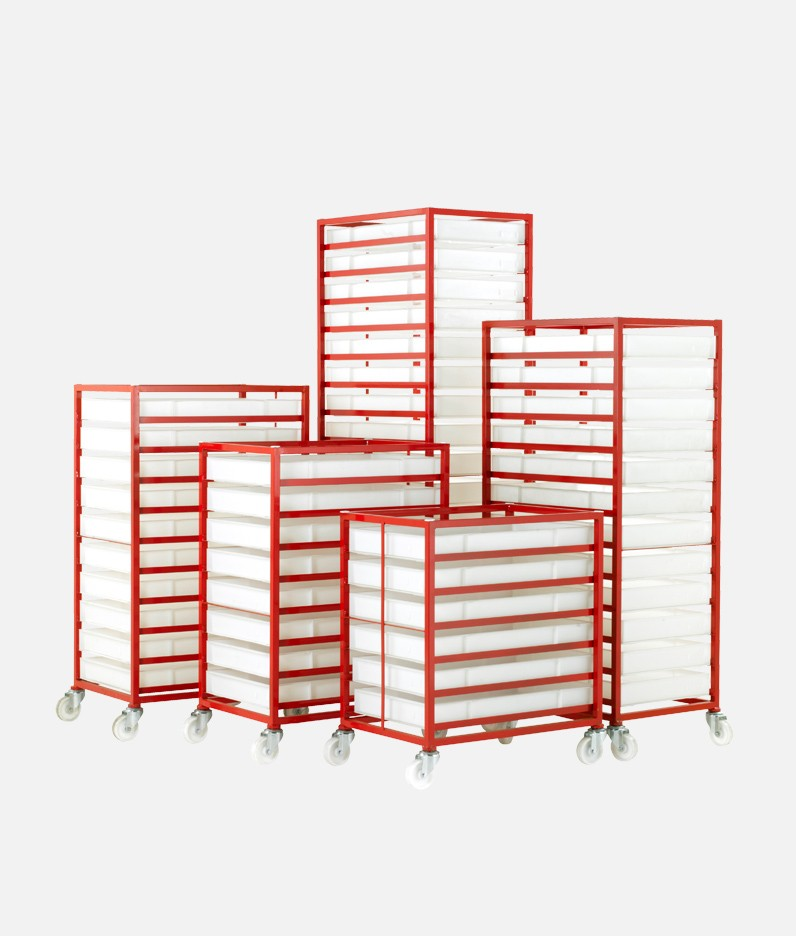 the CT300 tray rack