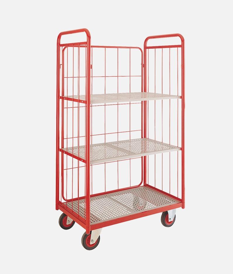 mesh 3 tier shelf truck