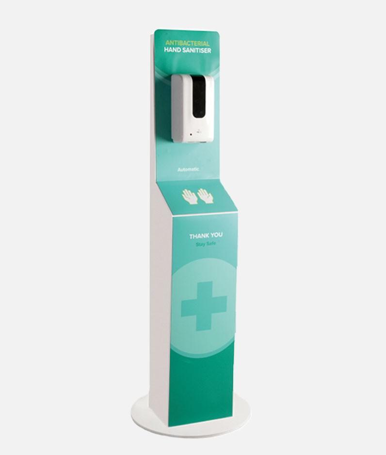 Automatic Hand Sanitiser Dispenser Station