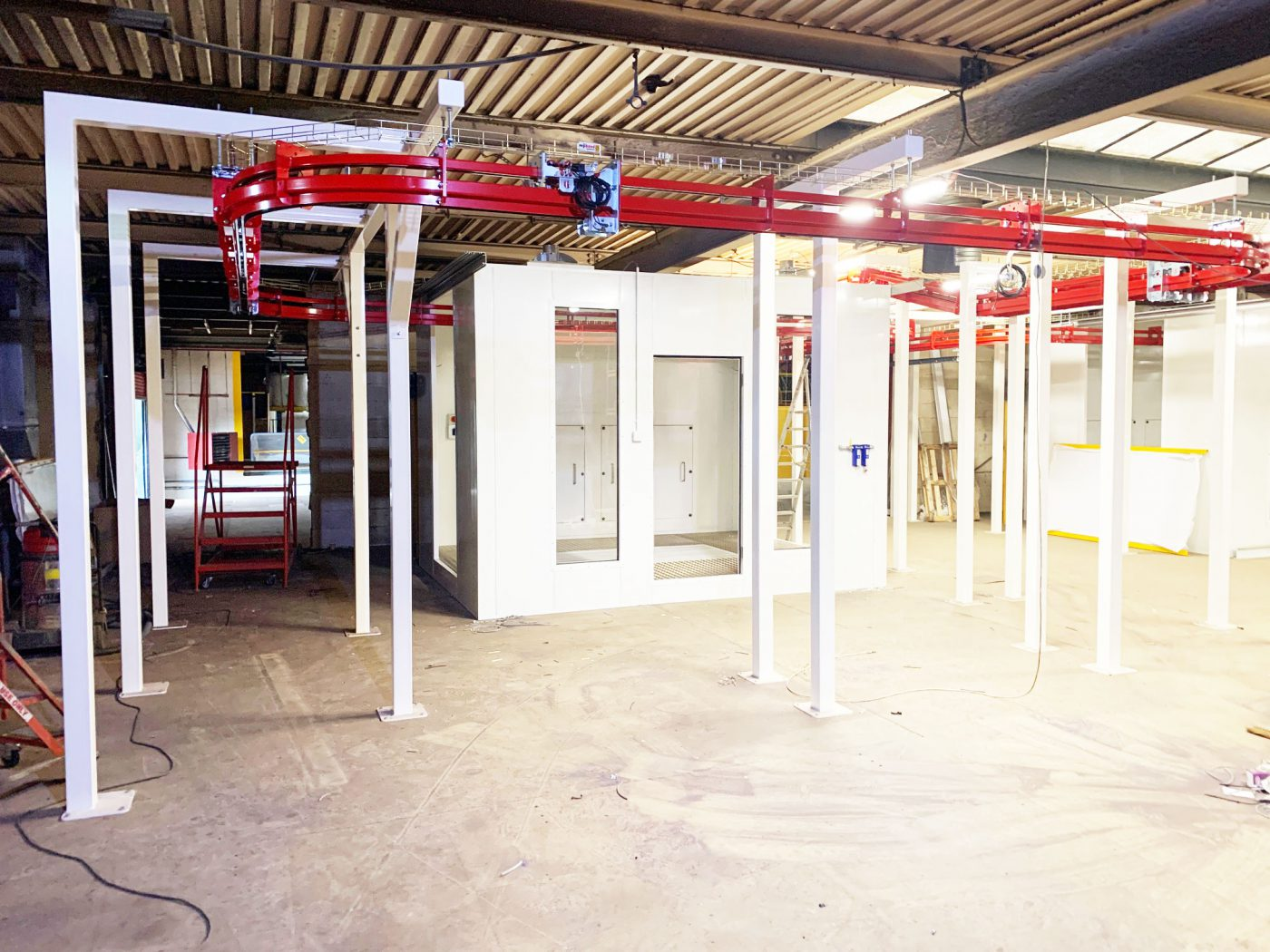 Our new powder coating facility